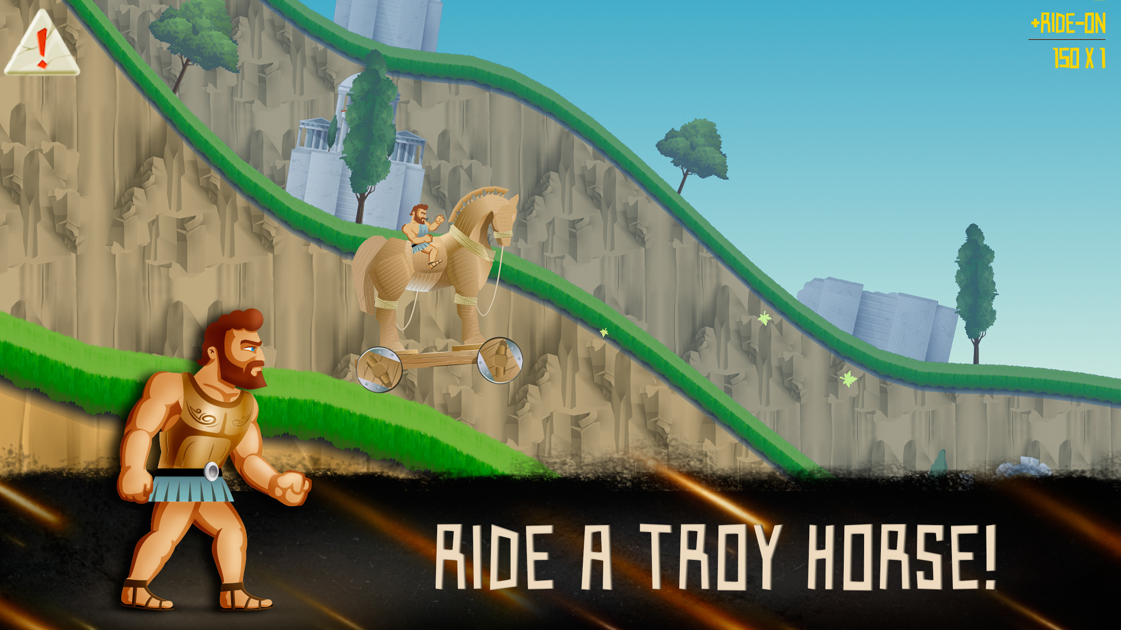 Sisyphus Job - Ride a troy horse